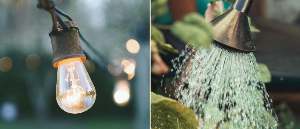 Abstellung Wasser und Ablesung der Stromzähler und Wasseruhren